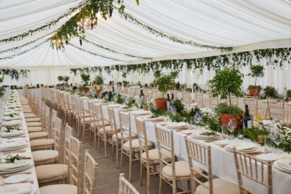 Belair House Wedding Venue, Marquee