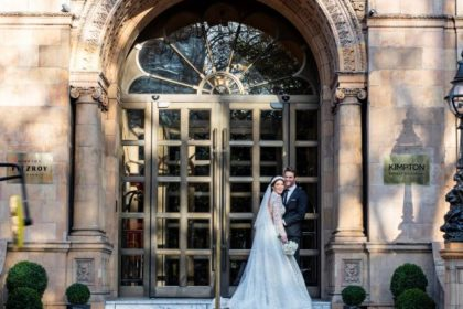 Kimpton Fitzroy Wedding Venue, Entrance