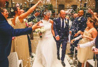 Devonshire Terrace Wedding Venue, Western Courtyard, Photo by Miki Studios