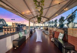 Rydges Sydney Harbour Corporate Parties, Outside Terrace