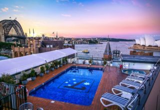 55 George Street Rooftop at Rydges Sydney Harbour
