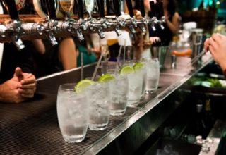 Sydney Harbour Marriott Birthday Party, Custom Bar