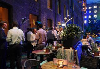 Devonshire Terrace, Cocktail Bar Parties, Western Courtyard