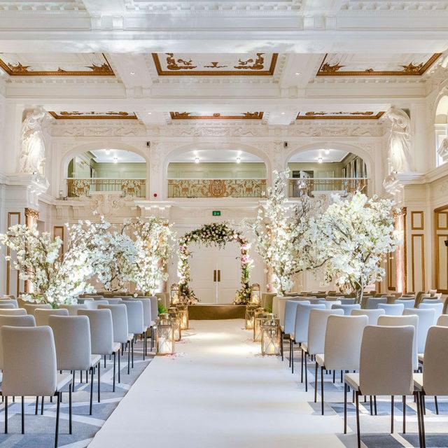 Kimpton Fitzroy London Ballroom Wedding Ceremony
