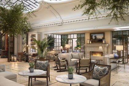 Kimpton Fitzroy London Venue Palm Court Lounge
