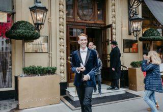 The Waldorf Hilton Wedding Venue, Entrance, Samantha Ward Photography.JPG