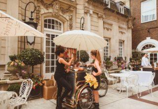 Dartmouth House Wedding Venue, Courtyard, Alexa Penberthy Photography