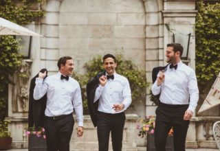 Dartmouth House Wedding Venue, Courtyard, Alexa Penberthy Photography1