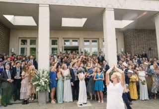 The Hurlingham Club Wedding Venue, Outside, Tom & Lizzie Redman Photography