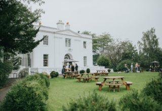 Belair House Wedding Venue, Outside space