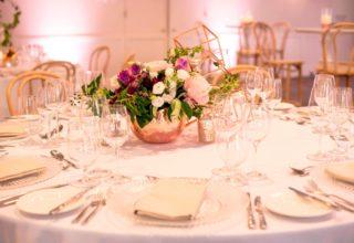 Sydney Harbour Marriott Wedding Dinner Table