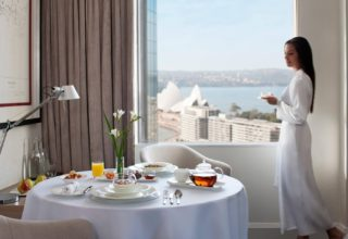 Sydney Harbour Marriott Room Service