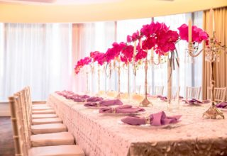 Sydney Harbour Marriott Wedding Table