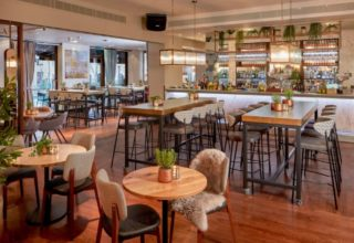 Corney & Barrow bar &restaurant Devonshire Terrace
