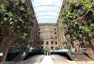 Western Courtyard Devonshire Terrace