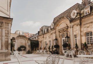 Dartmouth House London Weddings & Events Venue, External Courtyard