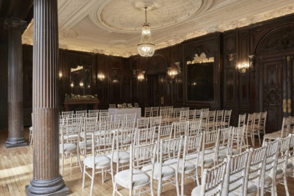 Dartmouth House London Wedding Ceremony in the Churchill Room