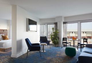 Pier One Sydney Harbour Suite Lounge Room