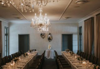 Gunners Barracks Corporate Meeting, Main Dining Room, Photography by Samantha Evans Creative