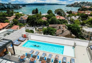 Intercontinental Double Bay Spa Day, Rooftop Terrace