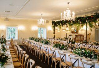 Dunbar House Wedding Venue, Main Dining Room
