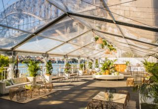Pier One Sydney Wedding Venue, Marquee