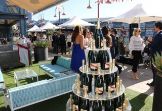 Pier One Sydney Summer Corporate Event, Outside pier