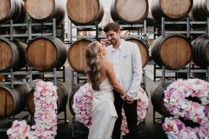 Urban Winery Sydney Wedding Venue, Outside space