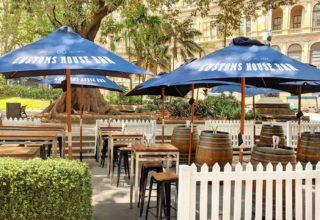 Sydney Harbour Marriott Hotel Customs Beer Garden