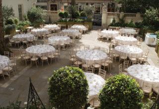 The Langham Hotel Wedding Venue, The Courtyard Garden