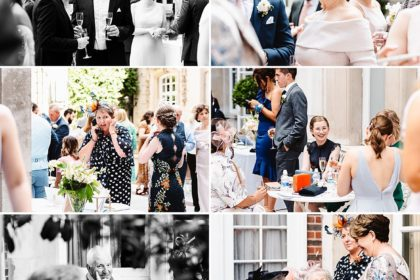 Dartmouth House Wedding Venue, Courtyard, Photography by Fiona Kelly