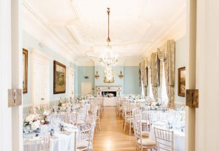 Dartmouth House Wedding Venue, The Long Drawing Room