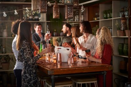 Mixology Classes at Devonshire Terrace on Liverpool Street in London