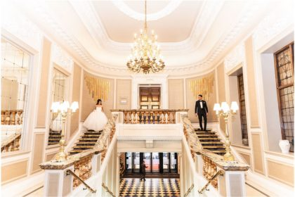 De Vere Grand Connaught Rooms Wedding Venue, First Floor Lobby