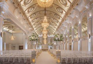 De Vere Grand Connaught Rooms Wedding Venue, Grand Hall
