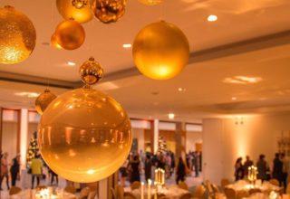 The Hurlingham Club Corporate Christmas Parties, Quadrangle Suite