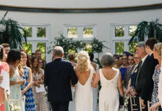 The Hurlingham Club Wedding Venue, Palm Court, Photography by Tom & Lizzie Redman