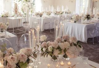 Dunbar House Luxury Wedding Dining Room Photo by Emilio B Photography
