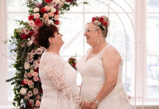 Same sex wedding at The Savoy on Little Collins Melbourne