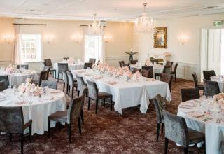 Dunbar House formal dining room