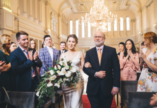 The Tea Room QVB Wedding Ceremony Sydney, Photo by Ann Marie Yuen Photography