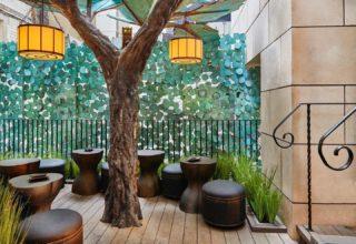 L'Oscar London Al Fresco Dining, Blue Tree Yard