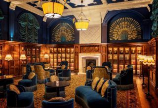 L'oscar London Wedding Venue, The Library