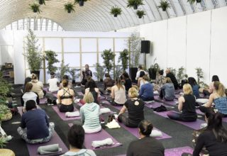 Old Billingsgate Yoga Sessions, Grand Hall