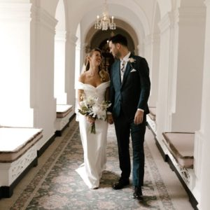 The Ned Wedding Venue, Corridor, Photography by Jessica Williams