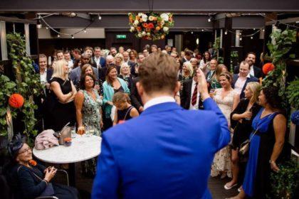 Century Club Wedding Venue, Rooftop Terrace, Photography by London Wedding Photographer1