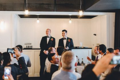 Century Club Wedding Venue, Club Room, Photography by Yolande Devries