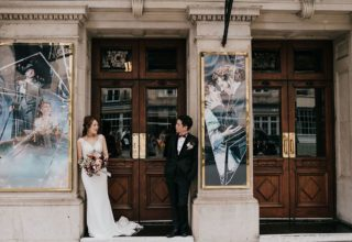 Haymarket Hotel Wedding Venue, Outside venue, Photography by Diana V
