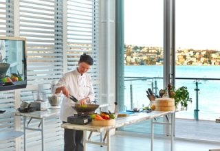 Zest Beachouse at Point Piper Cooking Classes, Pacific Room