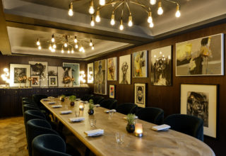 Sofitel London St James Private Dining Wild Honey Rose Bar-2